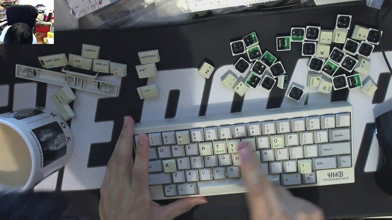 Hhkb With Typewriter Keycaps Youtube