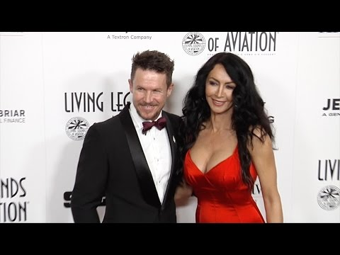 """Daredevil Felix Baumgartner 2017 """"Living Legends of Aviation Awards Red Carpet"""