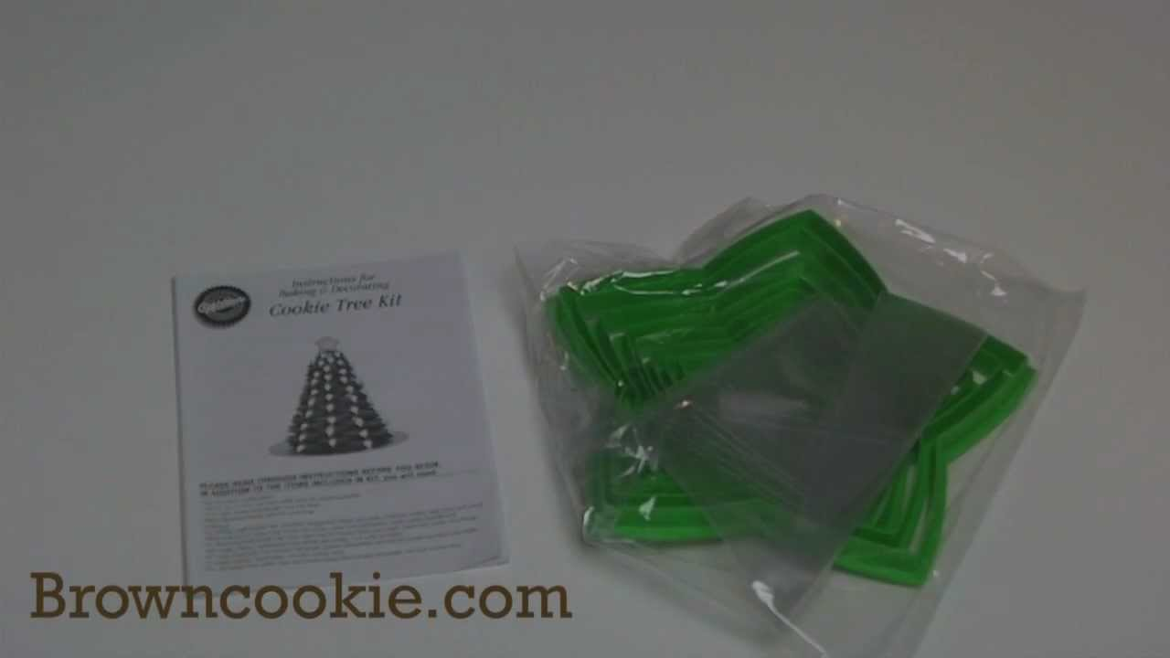Star Christmas Tree Cookie Cutter Kit By Wilton Youtube