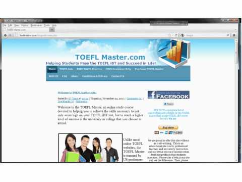 TOEFL iBT Video