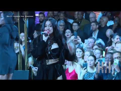 Cardi B Performs During Warner Music Group Pre-Grammy Celebration - HipHollywood.com