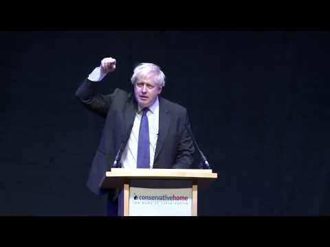 Boris Johnson's Conservative Party Conference speech 2018