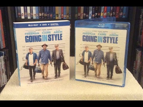 Going in Style BLU RAY UNBOXING + Review - Morgan Freeman