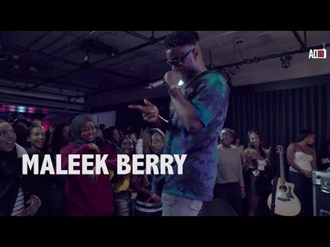Maleek Berry - Juice (Afrobeats In Conversation Live At Youtube Space London)
