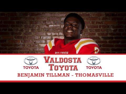 Benjamin Tillman III - Thomasville High School Football