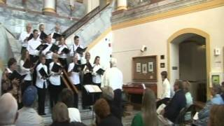 La Panache Chorale at Plumas County Courthouse, Quincy, CA