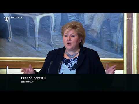Erna Solberg ber flere tenke seg om