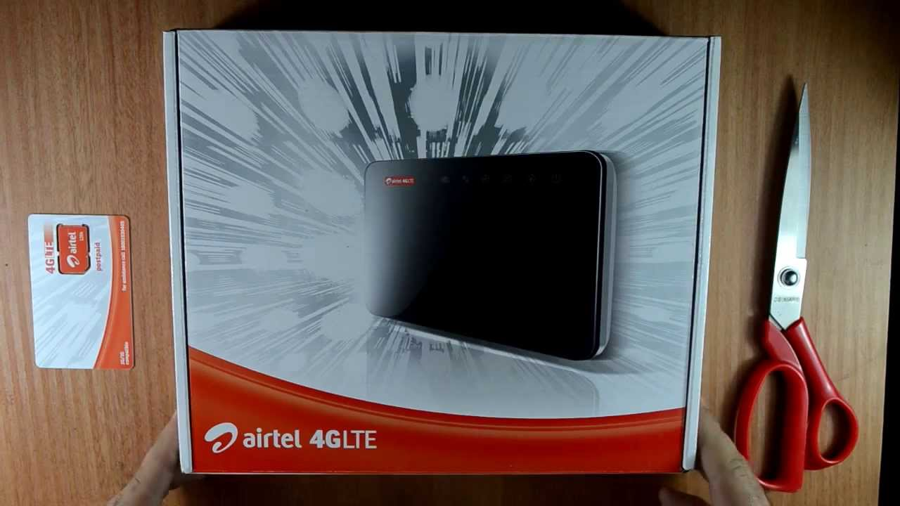 Airtel 4g Lte Wifi Router Zte Lte Cpe Mf29 Unboxing And