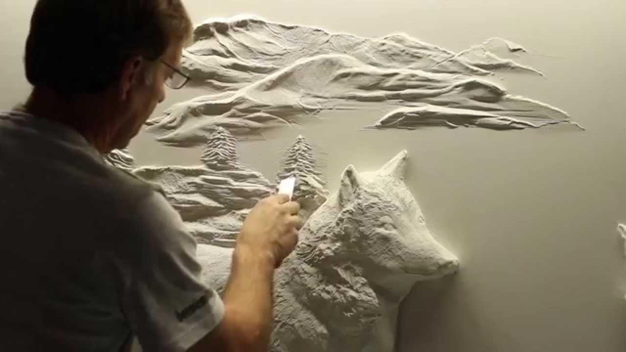Bernie mitchell drywall artist