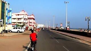 Video Puri Marine Drive Road from Light House to Puri Hotel - Odisha Tourism download MP3, 3GP, MP4, WEBM, AVI, FLV November 2018