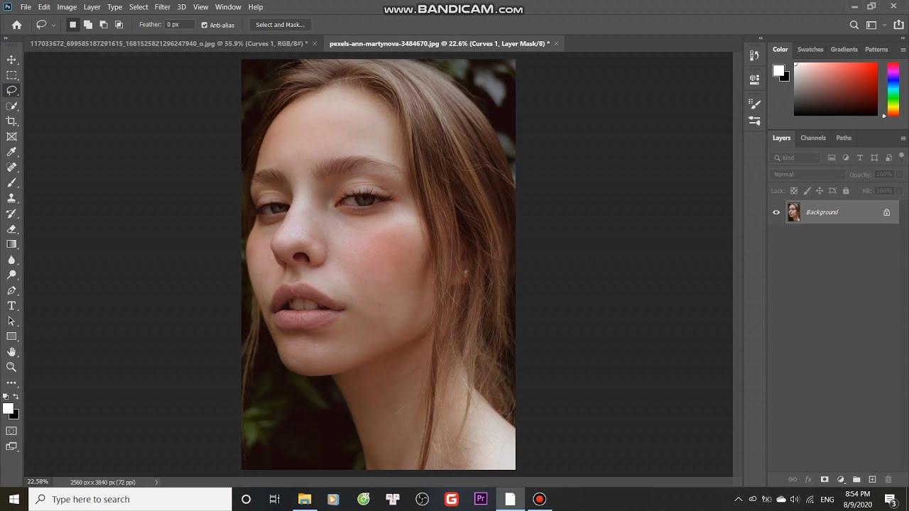 Hướng dẫn makeup đơn giản bằng photoshop