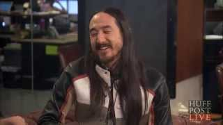 Repeat youtube video DJ Steve Aoki Responds To SNL 'Bass Drop' Sketch