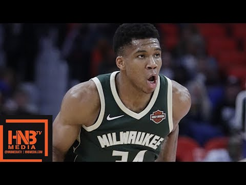Milwaukee Bucks vs Sacramento Kings Full Game Highlights / Week 7 / 2017 NBA Season