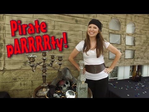 Decorate For A Pirate Themed Party - Pirate Decoration Ideas
