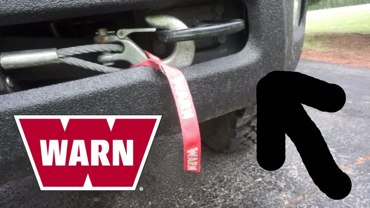How To Use Your Warn Winch On The Ram Wagon Vlog