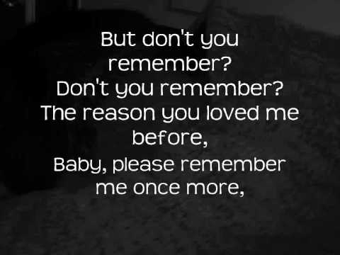 Free Download Adele - Don't You Remember With Lyrics Mp3 dan Mp4