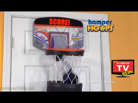 Hamper Hoops As Seen On TV Commercial Buy Hamper Hoops As Seen On TV Basketball Hoop Laundry Basket