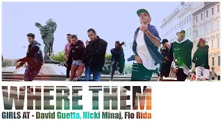 David Guetta  - Where Them Girls At // by Remy Rambo