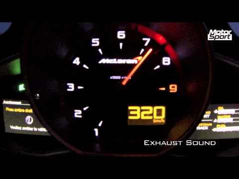 0-326 km/h : McLaren MP4-12C Spider (Motorsport)