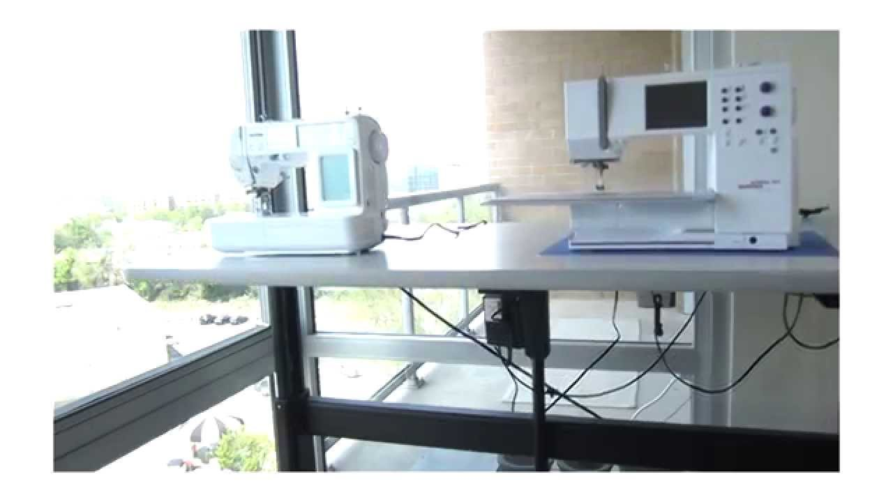 Tailormade Sewing Cabinet The Best Sewing Table To Have Youtube