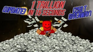 [Roblox] Case Clicker: 1 TRILLION IN 15 SECONDS (UPDATE)(250T GIVEWAWAY)