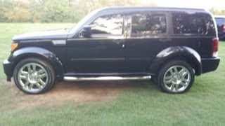 SOLD.2008 DODGE NITRO RT 4X4 FOR SALE AT FORD OF MURFREESBORO 888-439-8045 INFINITY AUDIO
