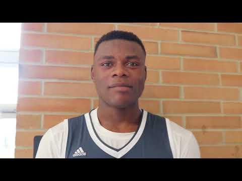 Class of 2019 center Oscar Tshiebwe talks recruitment, leaving Congo at age 15