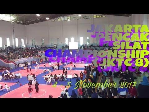 JKTC 8 |√ Jakarta Pencak Silat Championship 2017