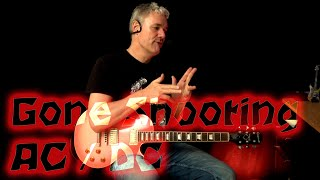 Gone Shooting ( AC DC ) - Guitar Lesson