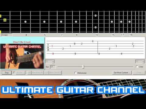 [Guitar Solo Tab] Don't Be Cruel (Elvis Presley)