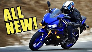 All New 2019 Yamaha R3! First Impressions