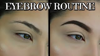 Beginners Basics For EyeBrows Basics Beauty Series | How To Fill In Your Eyebrows eyebrow tutorial
