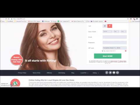 Local Hookup Free Flirt Chat Dating Site Online Singles & Personals from YouTube · Duration:  31 seconds