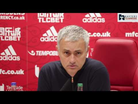 Agitated Mourinho responds to Karanka sacking