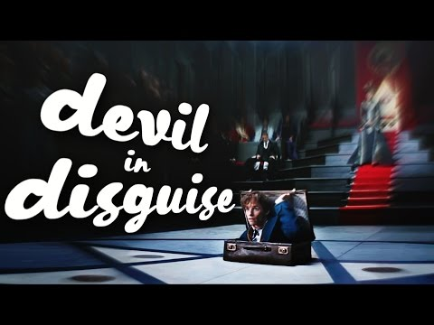 NEWT SCAMANDER | you're the devil in disguise
