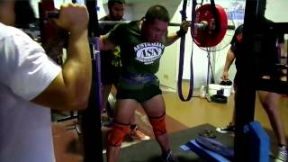 Mono Lift Squat!!! Less leg training, more upper body for Arnold Classic!