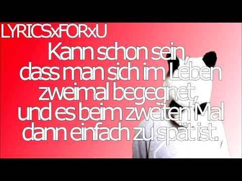 Cro - Bye bye   Lyrics On Screen   HD