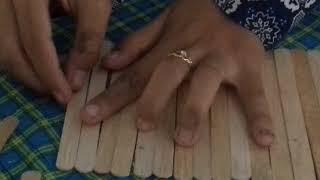 Cara Sederhana Membuat Tempat Pensil Keren Menggunakan Stik Es Krim