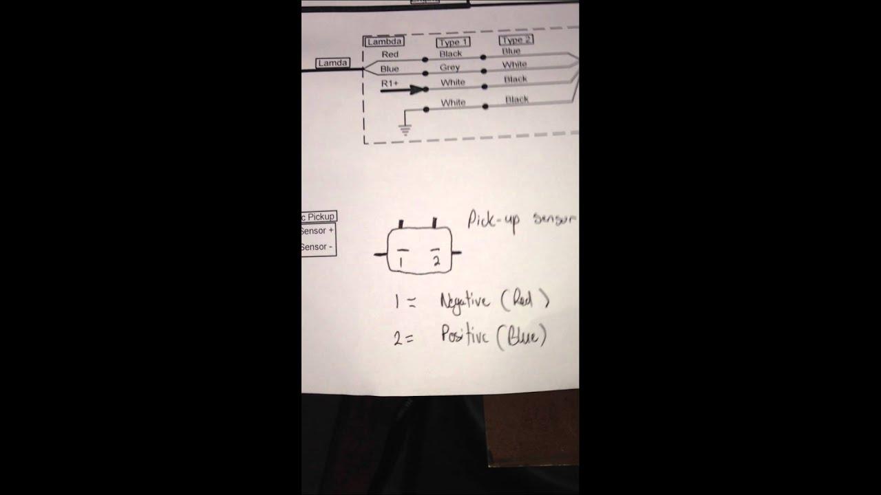 1UZFE Spitronics Wiring  Part 5  YouTube