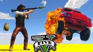 GTA V Online: RPG vs INSURGENT - FINALMENTE UES ACROBÁTICA!!!