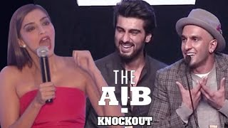 Sonam Kapoor REACTS on Arjun Kapoor's AIB Knockout CONTROVERSY