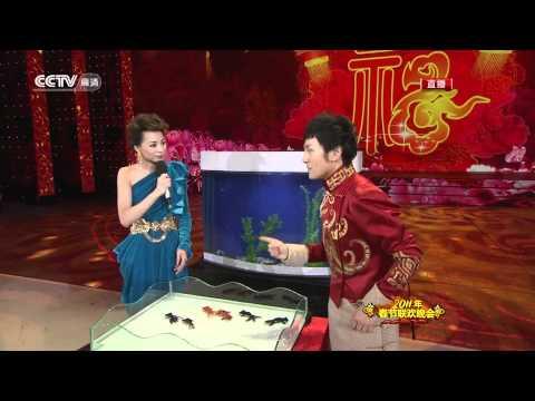 Dramatic sensational goldfish fish magic show on the Chinese new year 2011