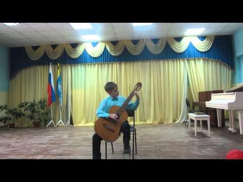 106 Курников Данила, г  Касимов, Карулли  Вальс