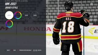Calgary Flames Jersey Remakes