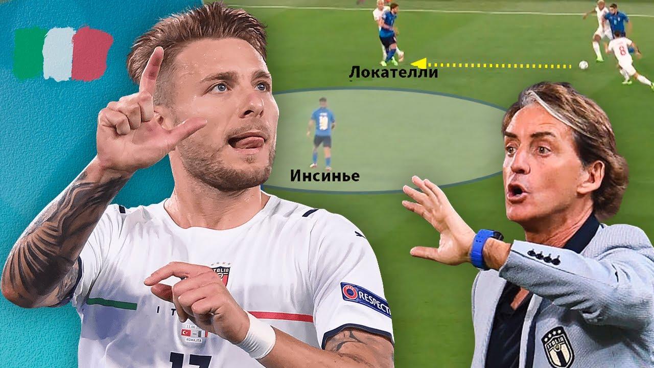 Как атакует Италия на Евро. Манчини построил суперкоманду