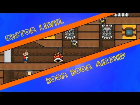 SMBX Custom level - Boom Boom Airship