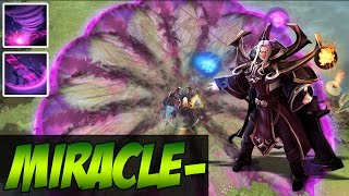 Miracle- Dota 2 - Invoker Dark Artistry Full Game - Ranked Gameplay