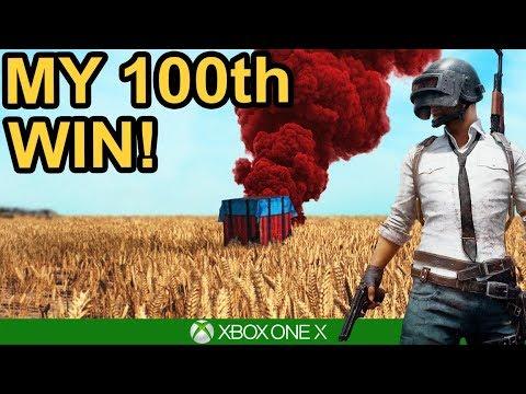 PUBG / MY 100TH WIN! / Xbox One X
