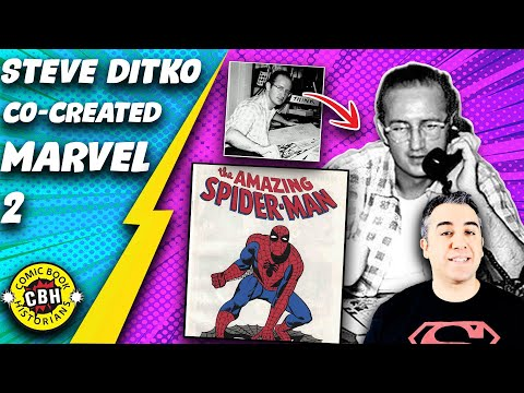 Ep.36.  Steve Ditko, co-creator of the Marvel Universe part 2 of 2 by Alex Grand