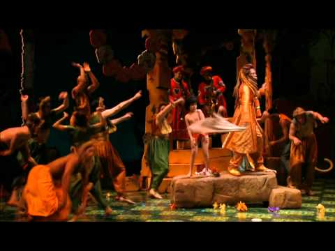 """Montage of clips from """"The Jungle Book"""" at Goodman Theatre"""